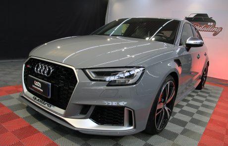 Audi RS3 Detailing e nanotecnologia