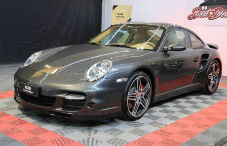 Porsche 997 turbo detailing trattamento nanotecnologico