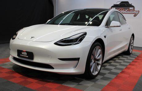 Tesla Model3 trattamento nanotecnologico